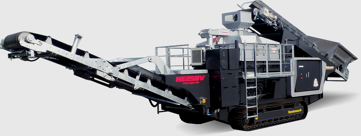 Dendoman Vertical Shaft Impact Crusher (Gyropactor)